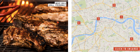 London Meat Map