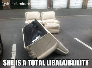 drunk furniture
